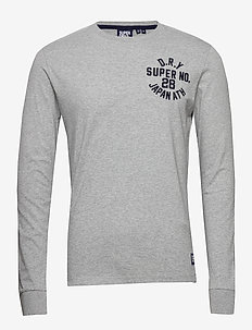 Superstate Ls Top - basic t-shirts - grey marl