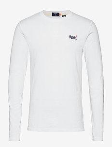 OL VINTAGE EMB LS TOP NS - basis-t-skjorter - optic