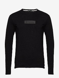 Surplus Goods Ls Top - basic t-shirts - jet black