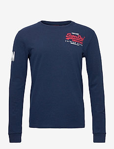 VL DUO LS TOP - basic t-shirts - midnight blue grit