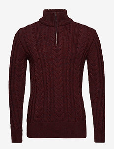 JACOB HERITAGE HENLEY - BURGUNDY TWIST