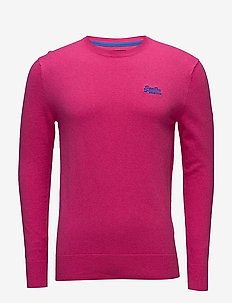 ORANGE LABEL CREW - pyöreäaukkoiset - hyper pink
