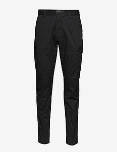 SURPLUS AVIATOR PANT - cargo housut - washed black
