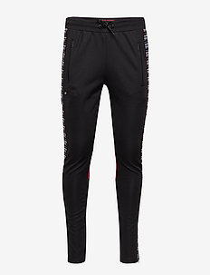 SD TRICOT PANELLED TRACK PANT - TRACK BLACK/TRACK RED