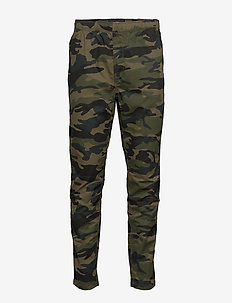 WORLDWIDE DRAWSTRING PANT - rennot - camo