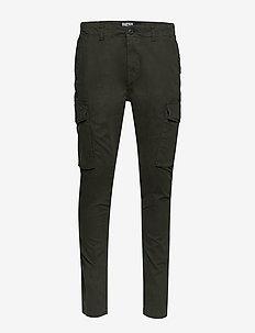 SLIM CARGO PANT - cargo pants - rosin