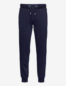 VINTAGE LOGO EMB JOGGER - spodnie dresowe - dark indigo