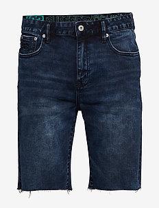 TYLER SLIM SHORT - jeans shorts - collier dark ink