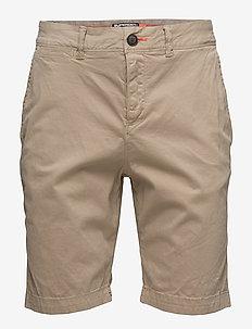 INTERNATIONAL CHINO SHORT - chinos shorts - corps beige