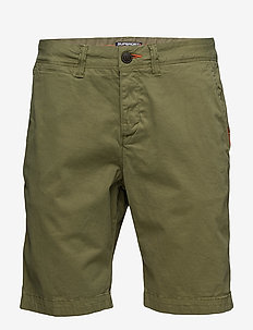 INTERNATIONAL CHINO SHORT - chinos shorts - dry military green