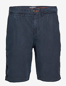 INTERNATIONAL LINEN CHINO SHORT - GRAPHITE NAVY