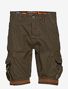 CORE CARGO LITE SHORT - casual shorts - olive aop