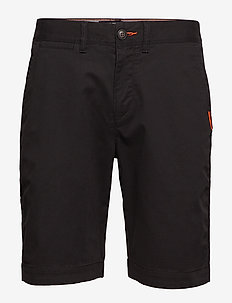 INTERNATIONAL SLIM CHINO LITE SHORT - BLACK