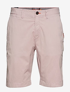 INTERNATIONAL SLIM CHINO LITE SHORT - chinos shorts - haze pink