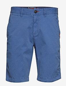 INTERNATIONAL SLIM CHINO LITE SHORT - chino's shorts - neptune blue
