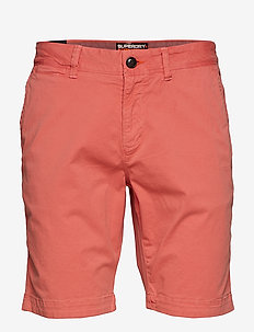 INTERNATIONAL SLIM CHINO LITE SHORT - POMMEGRANITE