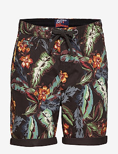 SUNSCORCHED CHINO SHORT - chinos shorts - charcoal hawaiian