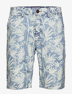 INTERNATIONAL CHINO SHORT - chino's shorts - chambray palm