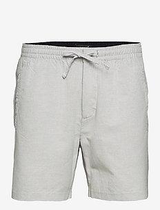 EDIT TAPER DRAWSTRING SHORT - casual shorts - grey feeder