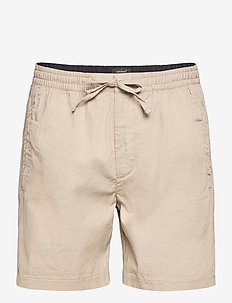 EDIT TAPER DRAWSTRING SHORT - casual shorts - sand texture