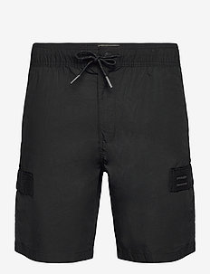 UTL CARGO SHORT - casual shorts - black