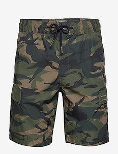 UTL CARGO SHORT - casual shorts - camo