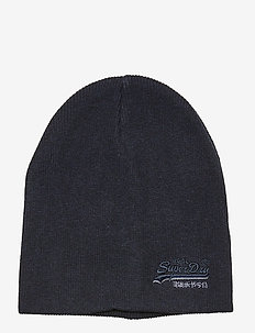 ORANGE LABEL BEANIE - DOWNHILL NAVY/BLACK GRIT