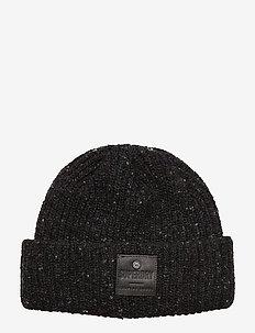 SURPLUS GOODS TWEED BEANIE - pipot - dark charcoal tweed