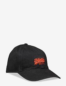 ORANGE LABEL CAP - BLACK