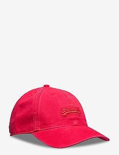 Orange Label Cap - caps - solar red