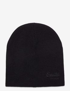 VINTAGE LOGO CLASSIC BEANIE - bonnet - black