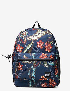 City Pack - backpacks - navy hawaiian