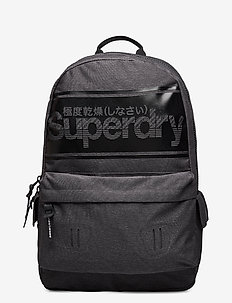 Stripe Logo Montana - rucksäcke - charcoal marl