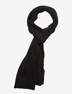 ORANGE LABEL SCARF - BLACK
