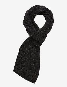 SURPLUS GOODS TWEED SCARF - huivit - dark charcoal tweed