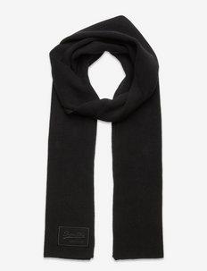 VINTAGE LOGO CLASSIC SCARF - halsdukar - black