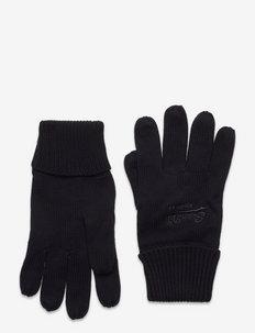 VINTAGE LOGO CLASSIC GLOVE - gants - black