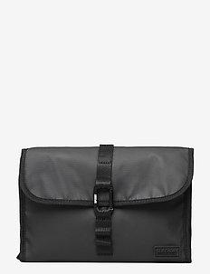 HOOK WASH BAG - toiletry bags - black