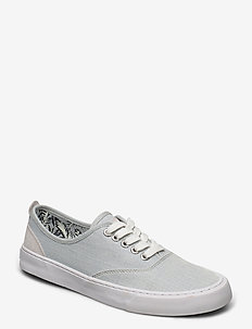 EDIT DAP - låga sneakers - light blue chambray