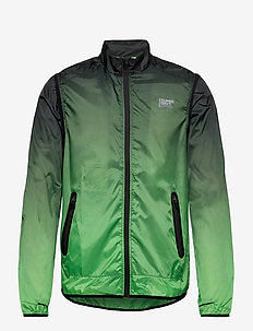 ACTIVE CONVERTIBLE JACKET - sportsjakker - black/fluro green