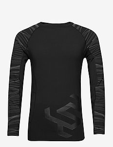 PERFORMANCE INSULATE L/S TOP - base layer overdeler - black