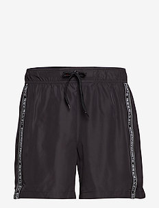 ACTIVE LOGO TAPED SHORT - BLACK