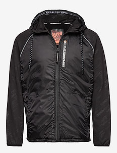 ACTIVE WATER REPELLENT HYBRID - MOTION PRINT BLACK
