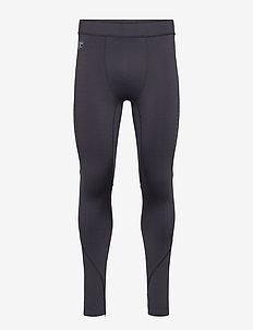 PERFORMANCE FLOCK COMPRESSION LEGGING - sports pants - black