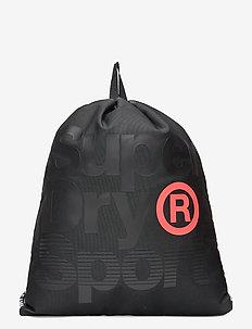 DRAWSTRING BAG - ryggsäckar - black