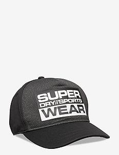 SPORT CAP - BLACK