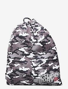 SPORT DRAWSTRING BAG - ryggsäckar - snow camo