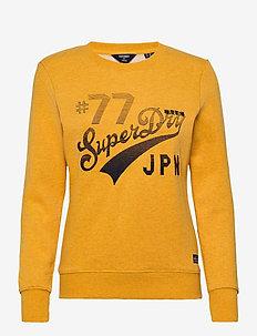 RW CLASSIC APPLIQUE CREW - sweatshirts - upstate gold