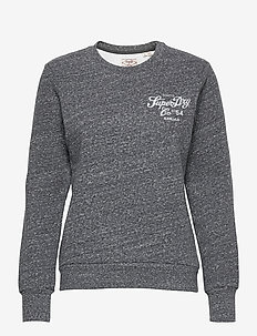 CRAFTED WORKWEAR CREW - jumpers - eclipse navy snowy