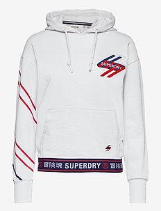 SPORTSTYLE GRAPHIC HOOD - hoodies - optic